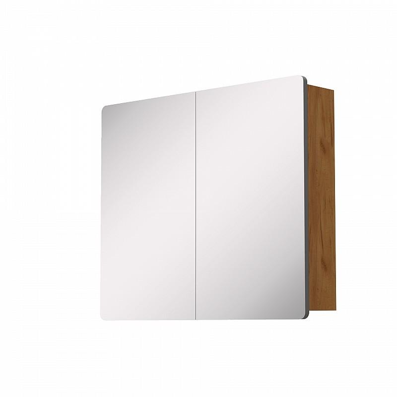 Κρεμαστός Καθρέπτης Μπάνιου Elena με 2 ντουλάπια 77*14.5*65cm 699-02-77-06