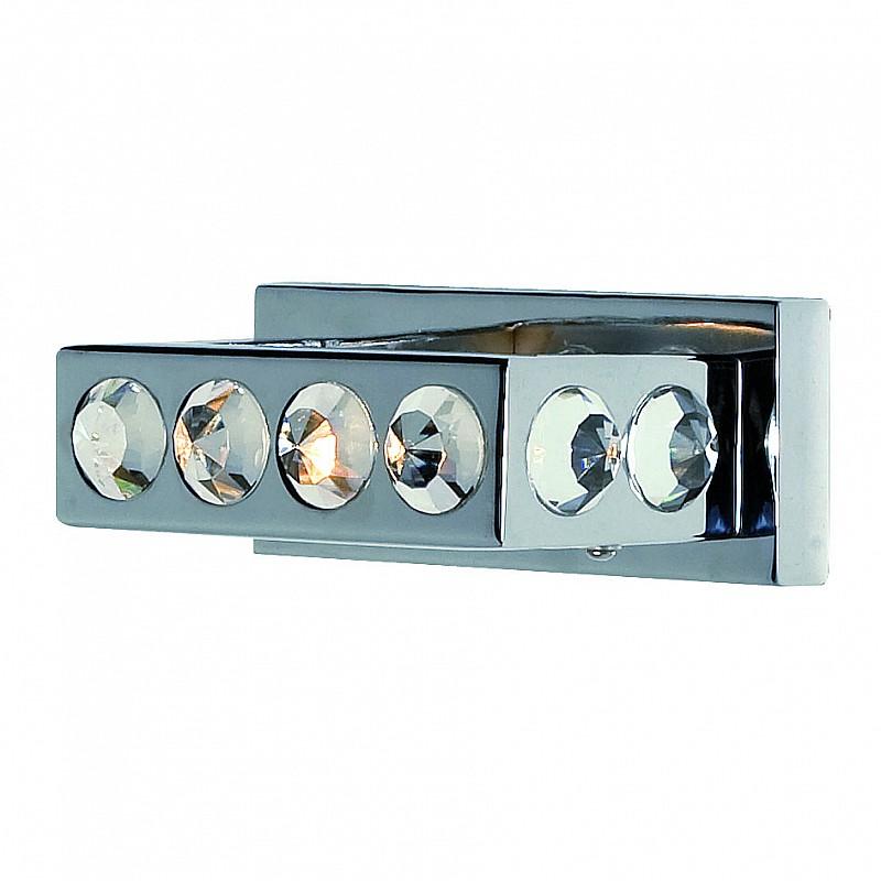 Φωτιστικό τοίχου  Δίφωτο G9  8*19*11cm Χρώμιο με Κρύσταλλα F-1738W-2