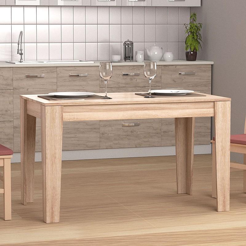 ZORY Τραπέζι 125x73x75cm χρώμα Sonoma KO-ZORY