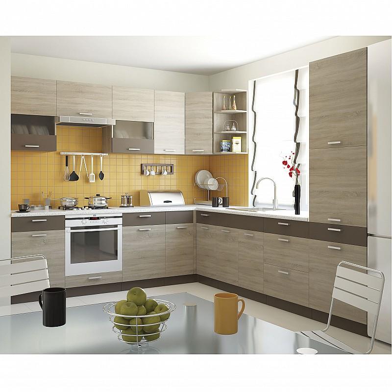 Alina Συρταριέρα 3 Συρτάρια Κάτω 40x44,5x85εκ Σονόμα-Μόκκα SO-AD403S