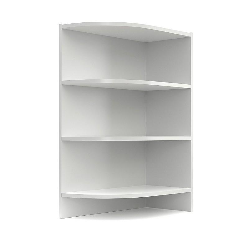 Charlotte κάτω ντουλάπι με ράφια 30x51/60x85cm Λευκό SO-CD30K3