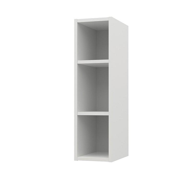 Charlotte πάνω ντουλάπι με ράφια 20x30,5x71,8εκ Λευκό SO-CV20W