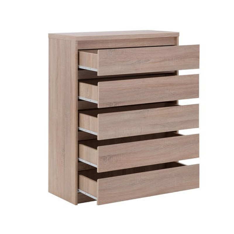 Συρταριέρα LAHTI 5 Συρτάρια SONOMA 83x40x115εκ TO-LAHTI5S