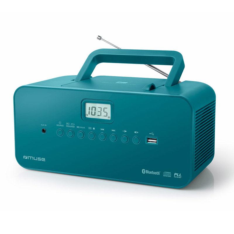 Ραδιόφωνο Cd-Player M-30BTB MUSE  Μπαταρίας-Ρεύματος Ψηφιακό