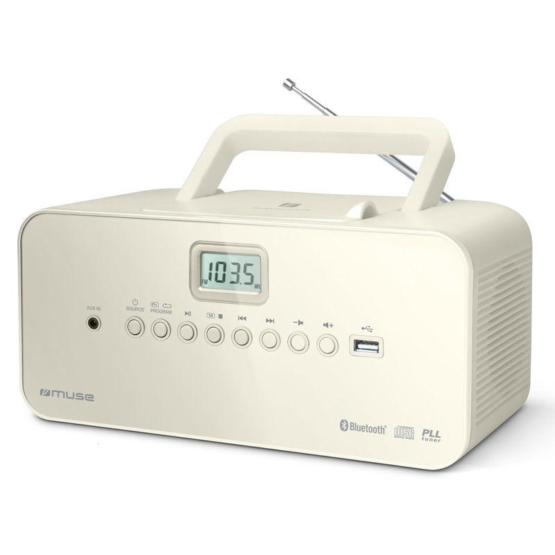 Ραδιόφωνο Cd-Player M-30BTN MUSE Μπαταρίας-Ρεύματος Ψηφιακό