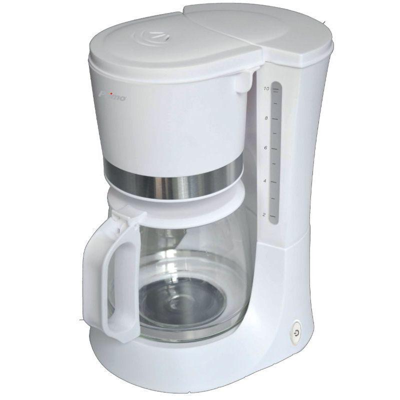 Καφετιέρα φίλτρου CM6636E Primo ECO 1.2L 10φλ Λευκή-Inox