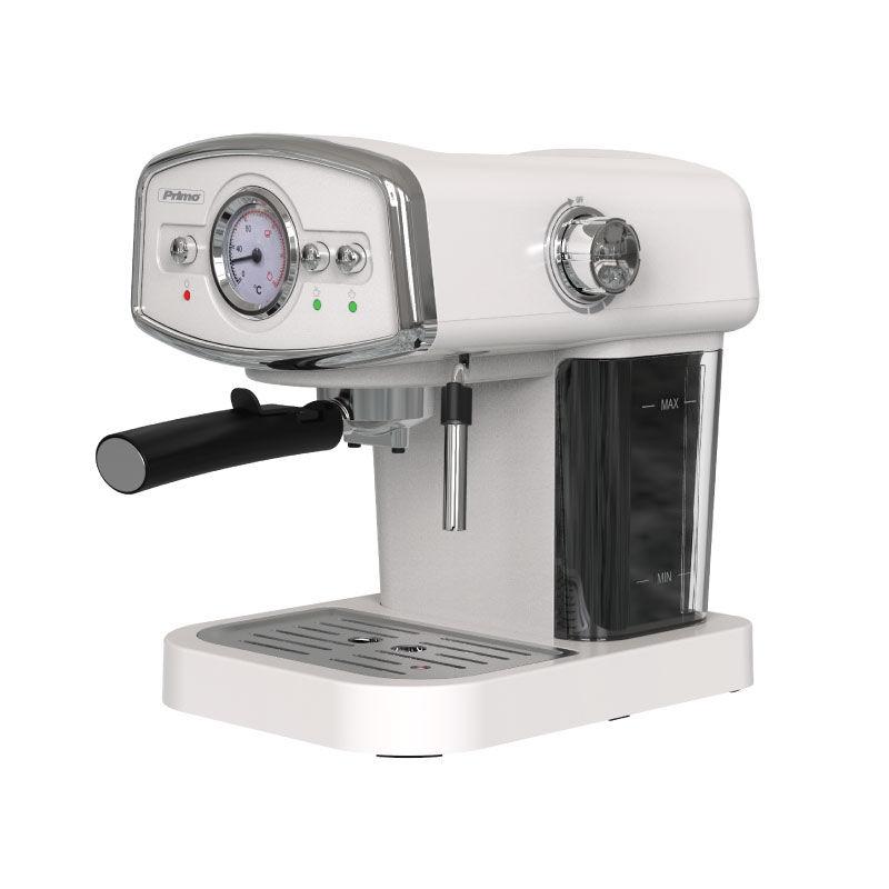Μηχανή Καφέ Espresso PREM-40312 Primo Eco 19Bar Με αναλογικό καντράν θερμοκρασίας Ιβουάρ-Chrome