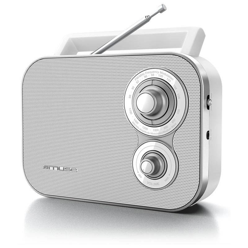 Ραδιόφωνο M-051RW MUSE Μπαταρίας-Ρεύματος Αναλογικό