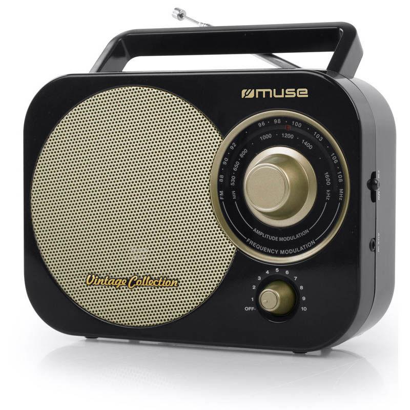 Ραδιόφωνο M-055RB MUSE Μπαταρίας-Ρεύματος Αναλογικό