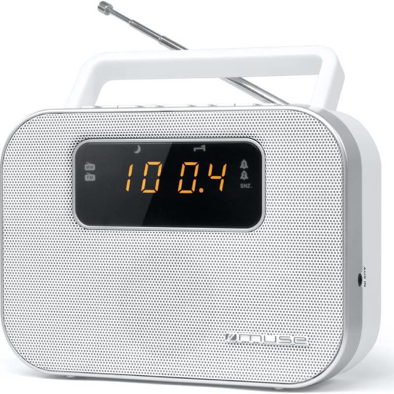 Ραδιόφωνο M-081RW MUSE Μπαταρίας-Ρεύματος Αναλογικό