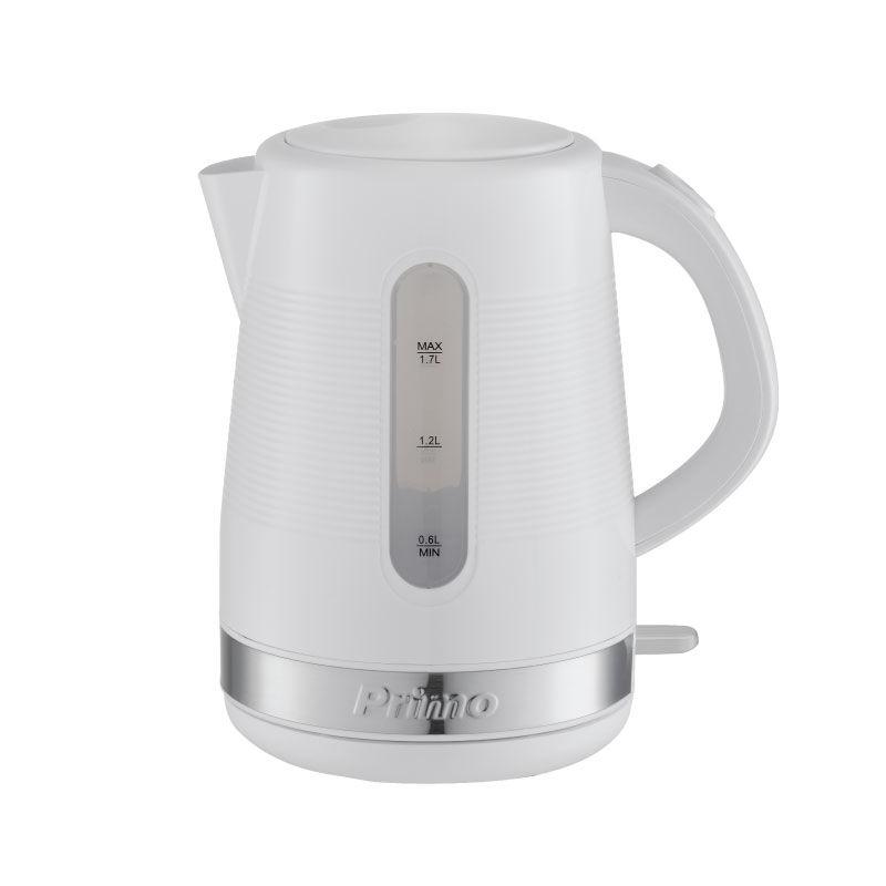 Βραστήρας PRCK-40303 Primo 1.7L 2200W Λευκός-Ιnox