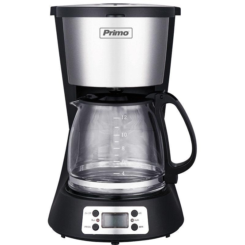 Καφετιέρα φίλτρου PRCM-40250 Primo Digital Eco 1.5L 12φλ Μαύρη-Inox