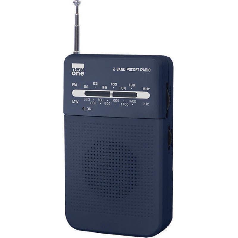 Ραδιόφωνο Τσέπης R206 NEWONE Μπαταρίας Αναλογικό