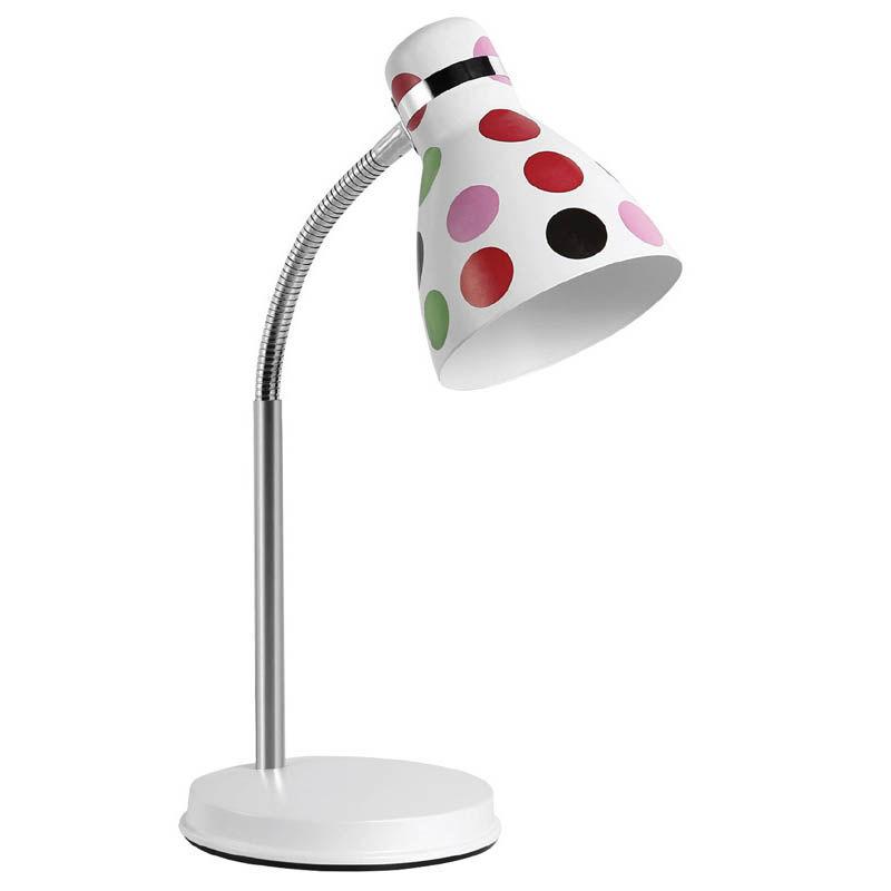 Φωτιστικό Γραφείου SUDL-30131 Sunfos Μεταλλικό E27 40W Λευκό-Πουά Colors