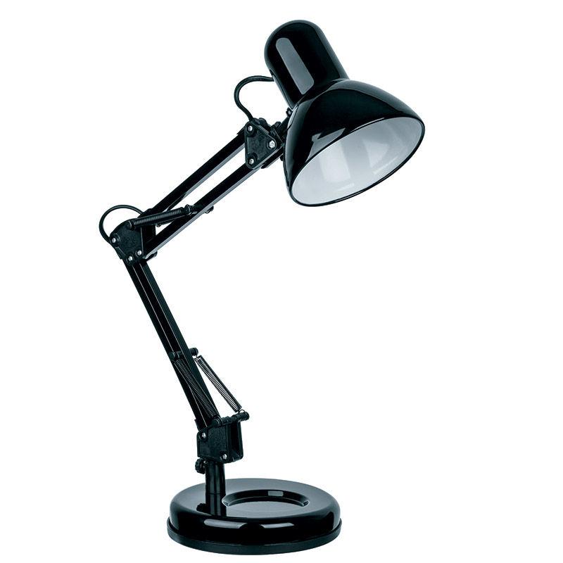 Φωτιστικό Γραφείου SUDL-30136 Sunfos Μεταλλικό Ε27 40W Μαύρο