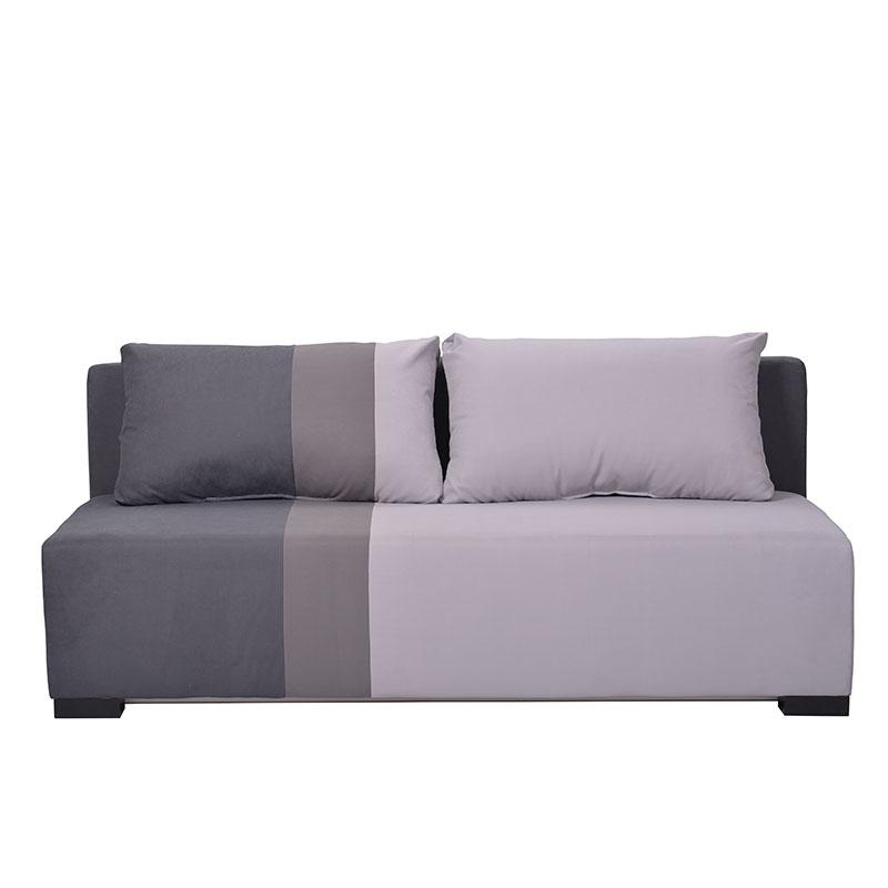 Καναπές κρεβάτι Santos γκρι/ανοιχτό γκρι/γκρι TΤ1/ΤΤ4/ΤΤ9 198*95*81 Fyllian 21028794
