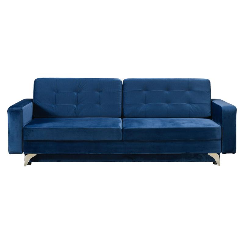 Καναπές κρεβάτι Garda μπλε 227*89*76 Fylliana 21029015