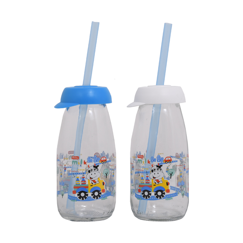 ΜΠΟΥΚΑΛΙ ΓΥΑΛΙΝΟ ΜΕ ΚΑΛΑΜΑΚΙ Milk 0.25lit