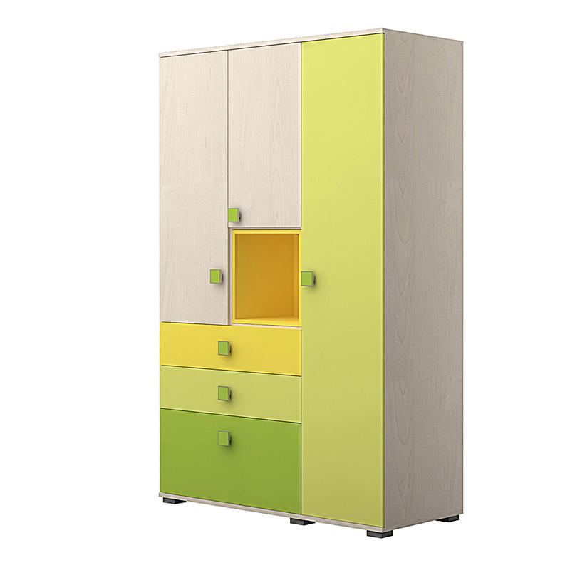Ντουλάπα green 125*56*200 JNR Fylliana 864-82-008