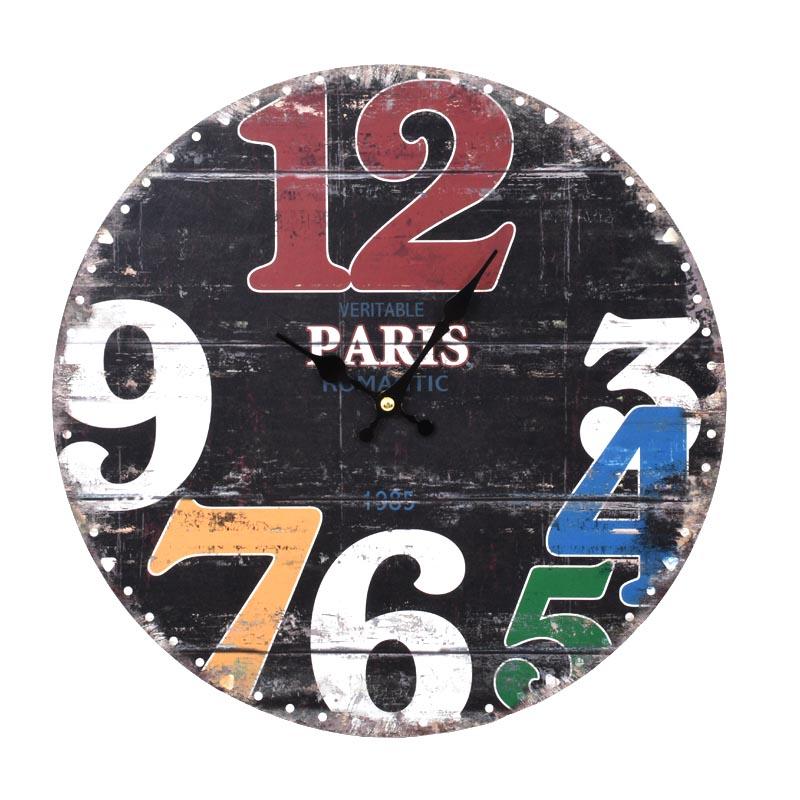 """ΡΟΛΟΙ ΤΟΙΧΟΥ MDF """"PARIS"""" ΜΑΥΡΟ 34εκ"""