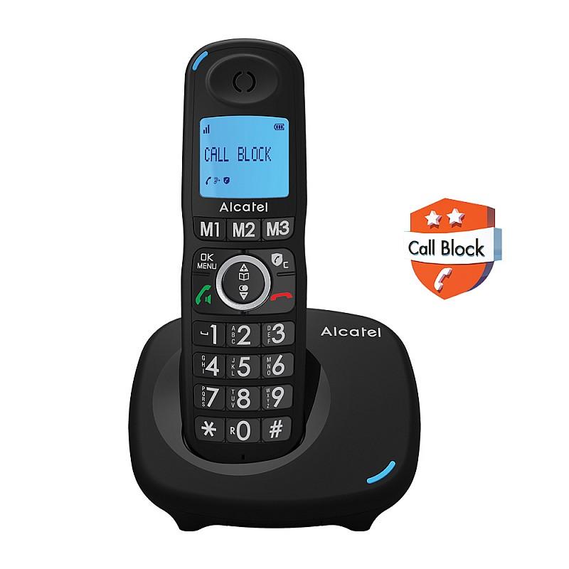 Ασύρματο τηλέφωνο με δυνατότητα αποκλεισμού κλήσεων XL535