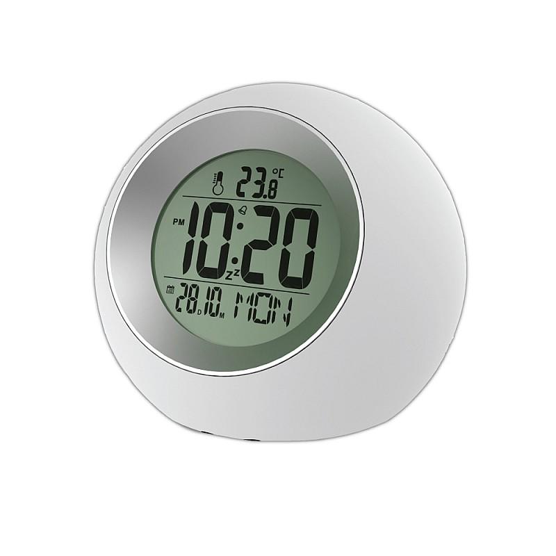 Ψηφιακό ρολόι Λευκό με Γκρι E0325