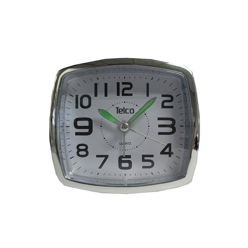 Αναλογικό ρολόι με φως 6119