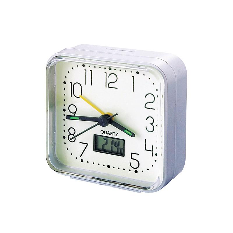 Αναλογικό ρολόι με ένδειξη θερμοκρασίας XG-8676