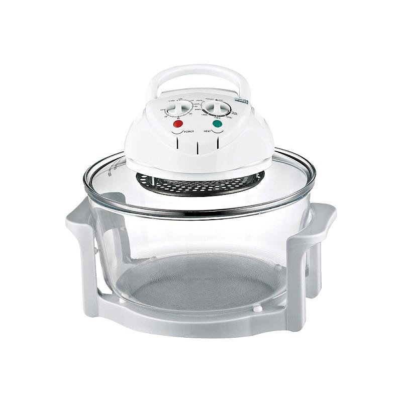 Ηλεκτρικό φουρνάκι 1300W Λευκό FG-615