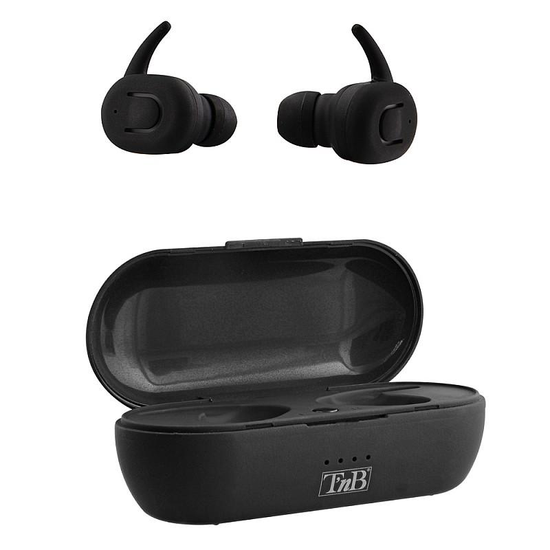 Ακουστικά Bluetooth με θήκη φόρτισης  EBDUDEBK