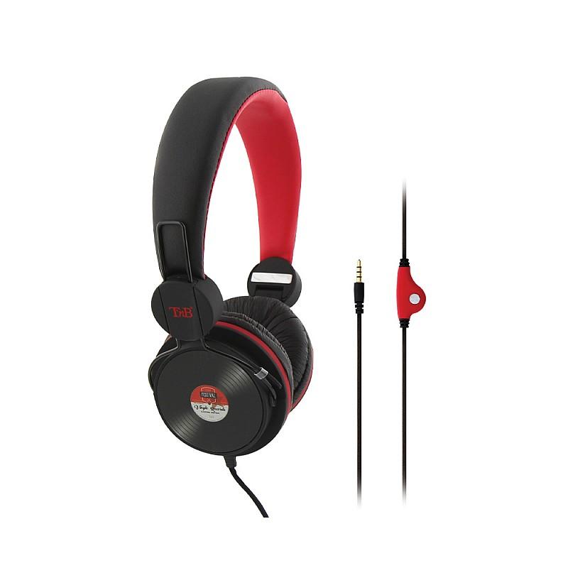 Ακουστικά κεφαλής ενσύρματα με μικρόφωνο