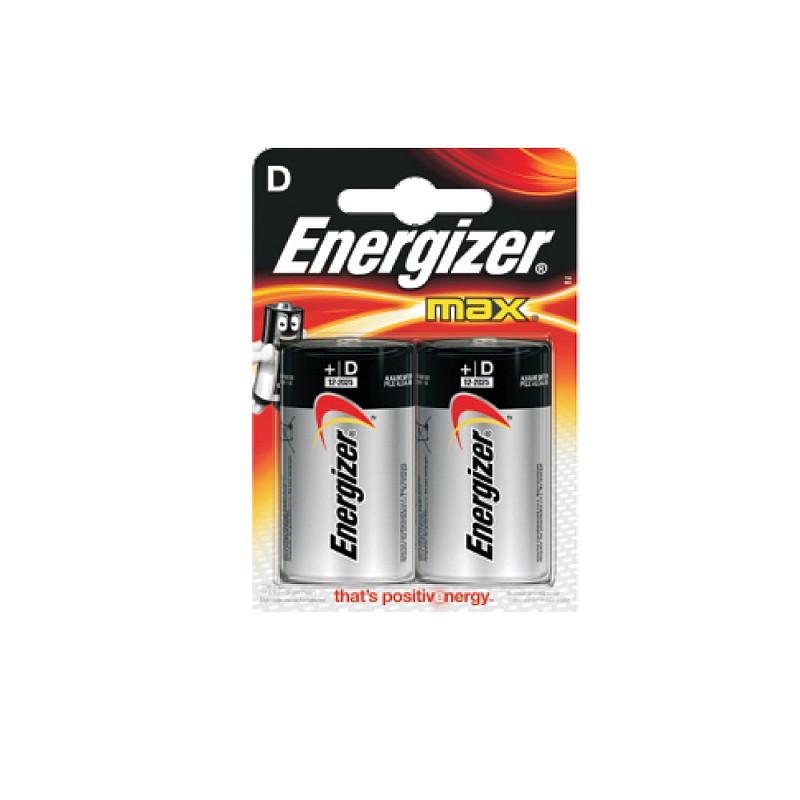 Αλκαλικές μπαταρίες MAX σε blister D-LR20