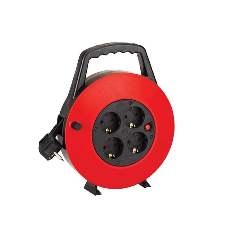 Μπαλαντέζα καρούλι κλειστού τύπου 10m Μαύρη/Κόκκινη KF-GXGB-15