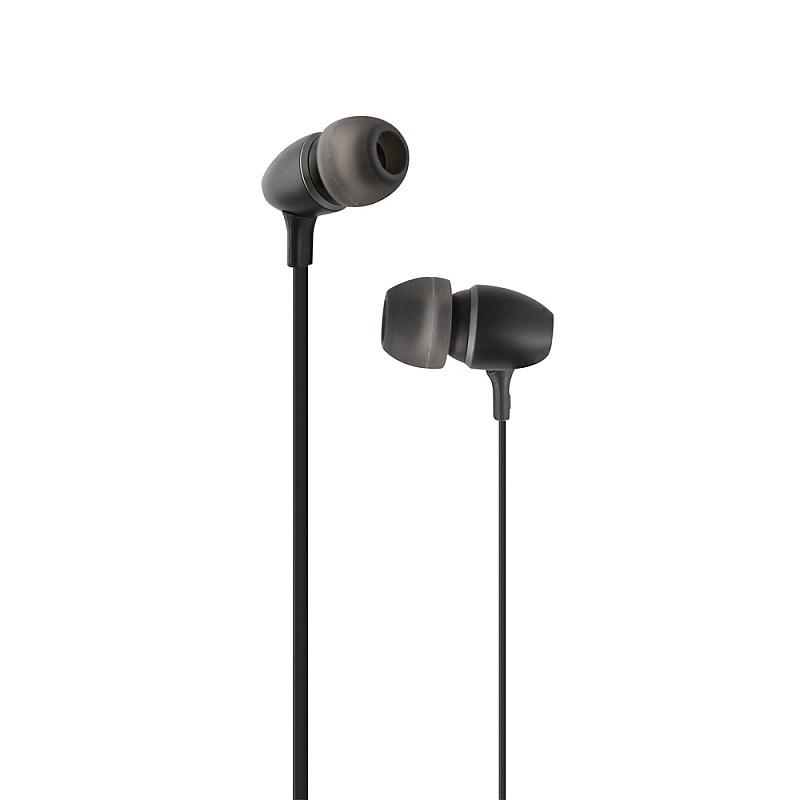 Ακουστικά ψείρες με μικρόφωνο και handsfree Μαύρο ESFEELBK
