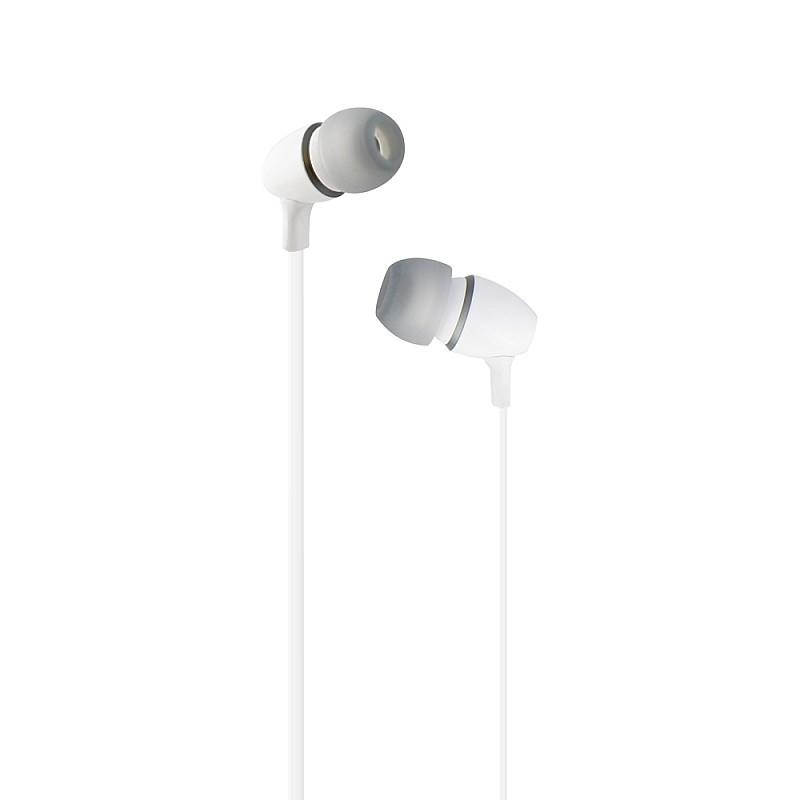 Ακουστικά ψείρες με μικρόφωνο και handsfree Λευκό ESFEELWH