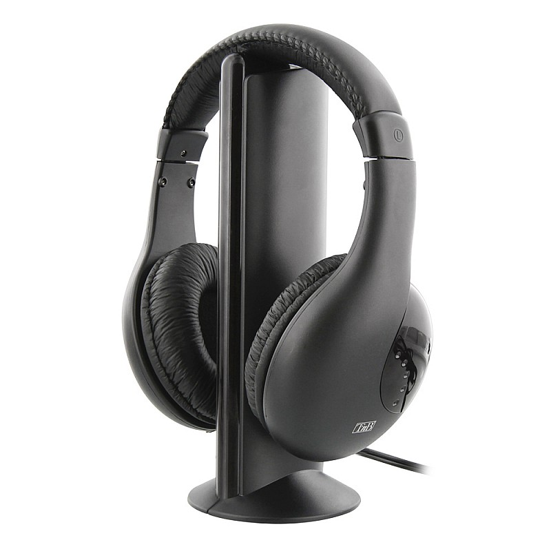 Ασύρματα ακουστικά κεφαλής (πομπός-δέκτης) TV - Stereo -  CSHOMESF1