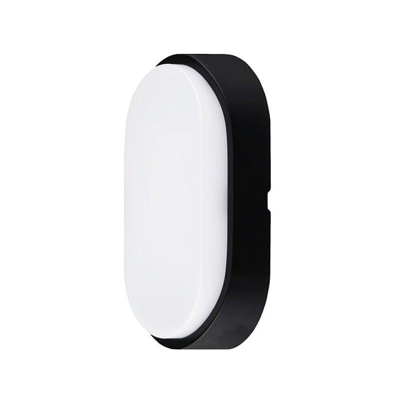 Φωτιστικό LED Εξωτερικού Χώρου Οβάλ MT1S10XA1 10W Μαύρο