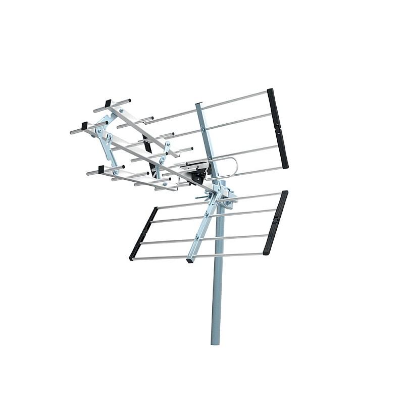 Κεραία τηλεόρασης εξωτερικού χώρου 35dB UHF-366
