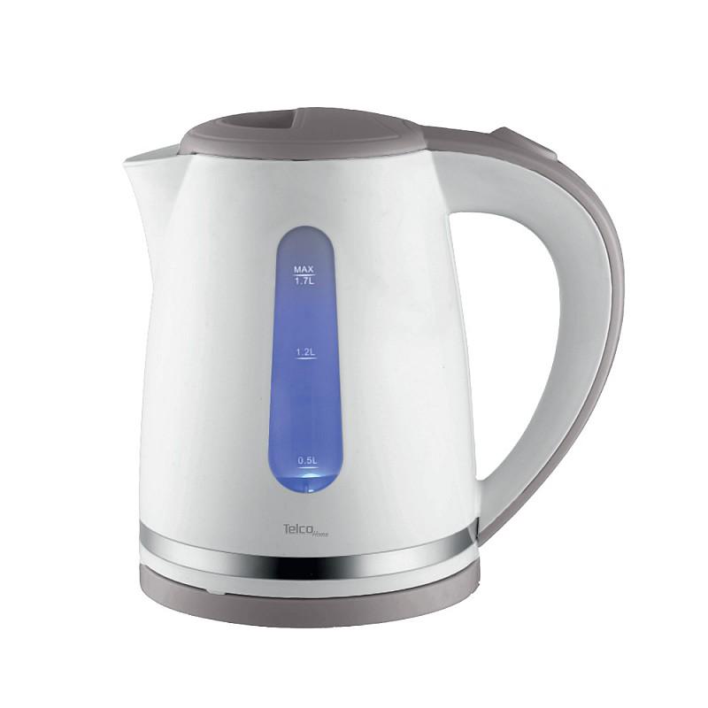 Βραστήρας νερού 1.7Lt 2200W  Λευκός με Γκρί WJ-601-5
