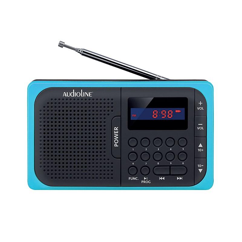 Ψηφιακό ραδιόφωνο μπαταρίας με USB και κάρτα μνήμης SD TR-210