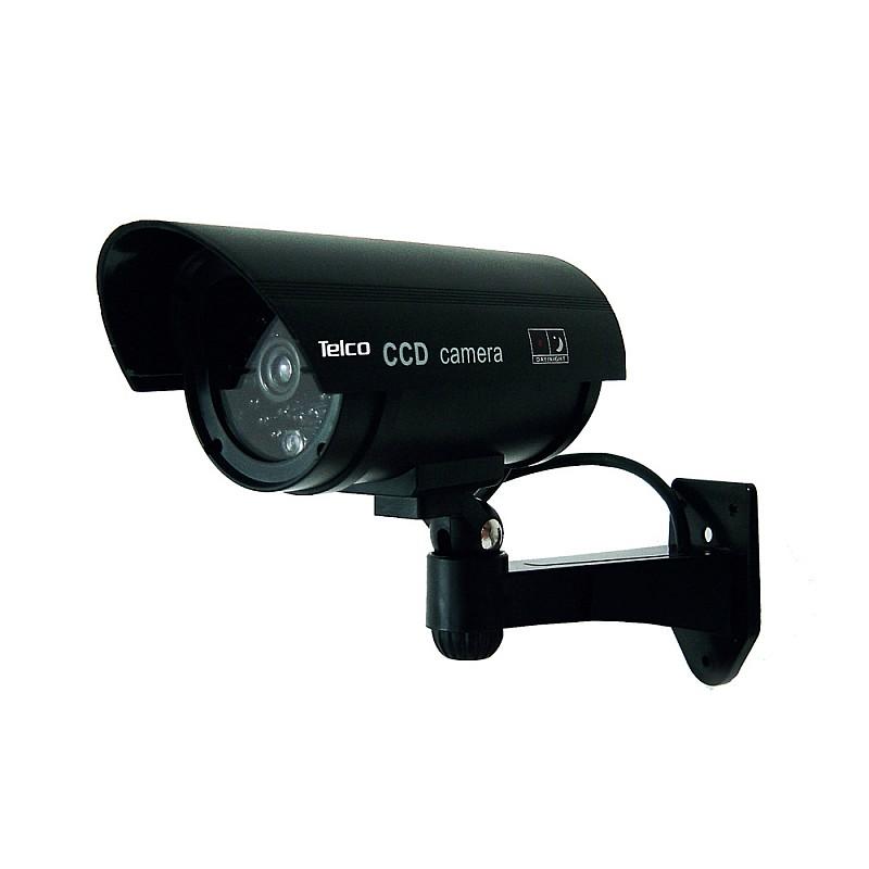 Ομοίωμα dummy camera με flash light Led αδιάβροχh Μαύρη RL-027