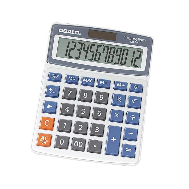 Αριθμομηχανή γραφείου 12 ψηφίων OS-3M