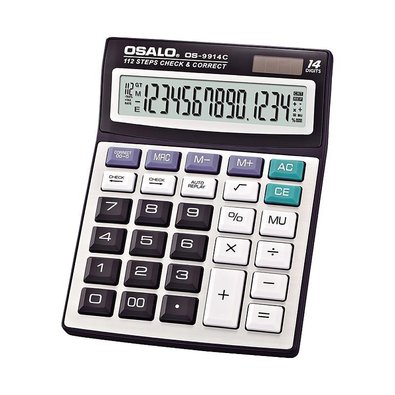 Αριθμομηχανή γραφείου 14 ψηφίων OS-9914C