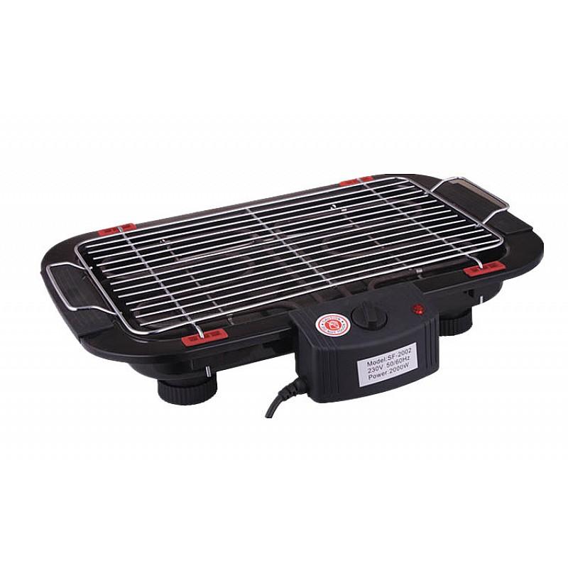 Ηλεκτρική ψησταριά Bormann 2000 Watt επιτραπέζια με θερμοστάτη BBQ1050 023951