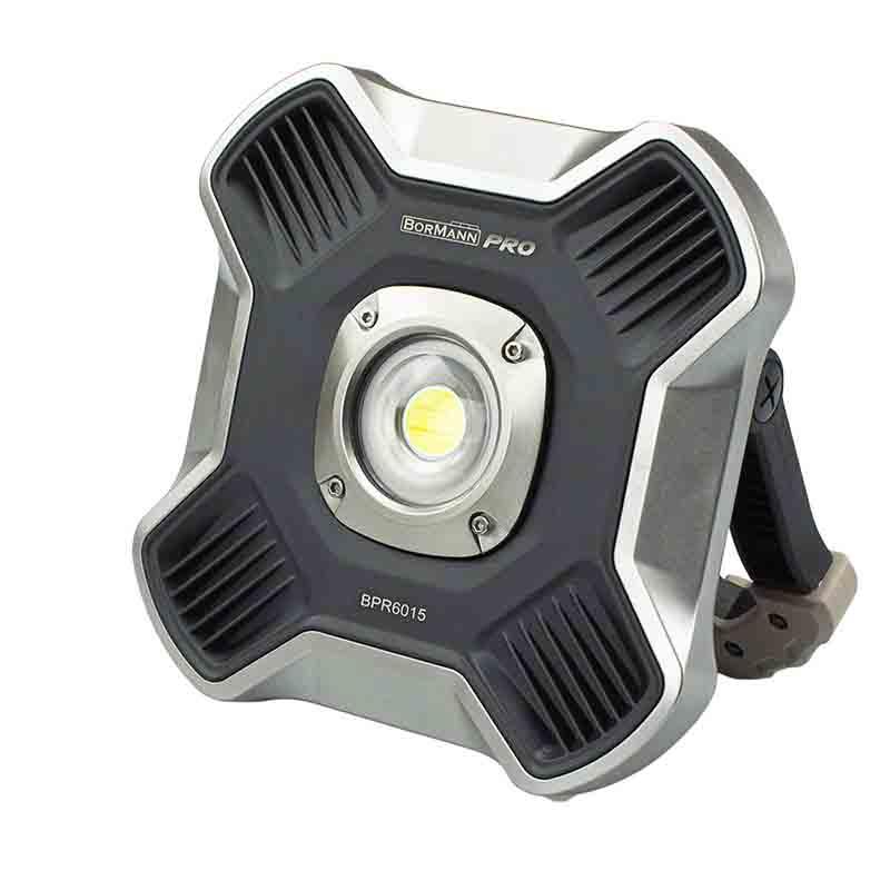 Προβολέας επαναφορτιζόμενος Bormann 10 Watt COB 1100 lumens PR6015 029991