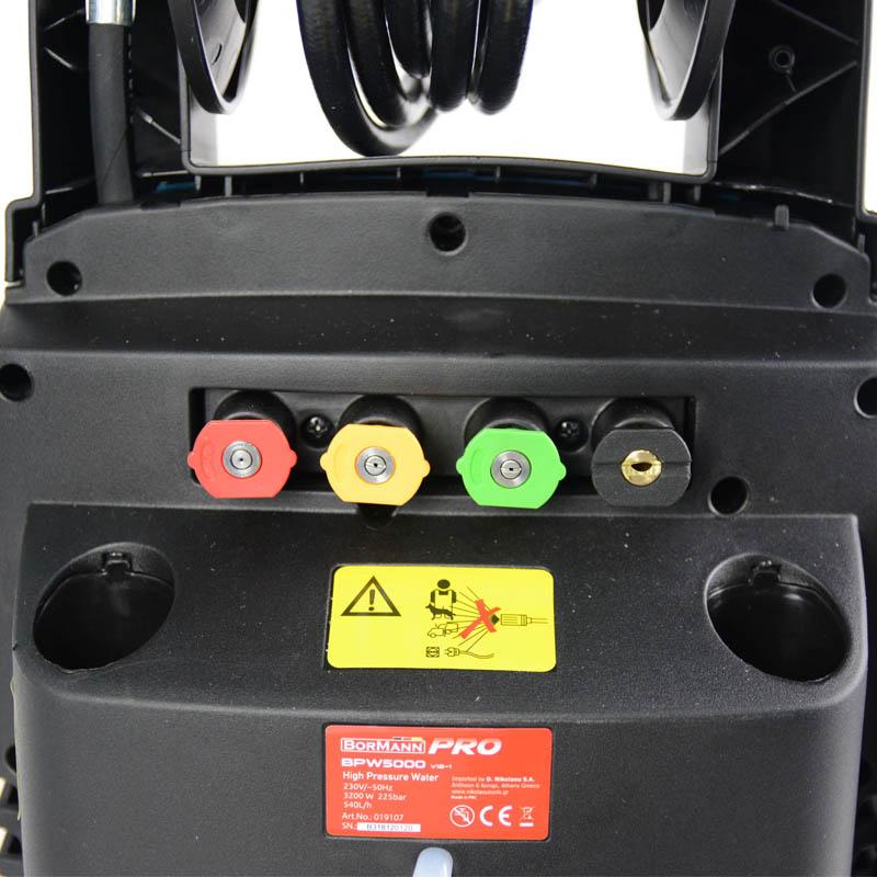 Πλυστικό υψηλής πίεσης 3200W BORMANN BPW5000 019107