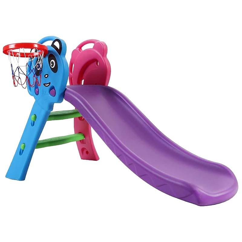Τσουλήθρα Παιδική με Μπασκέτα Purple Bormann 029878