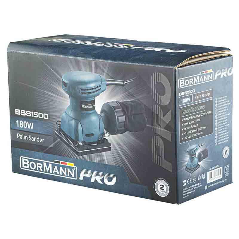 Τριβείο χούφτας Bormann Pro 180 Watt BSS1500 028284