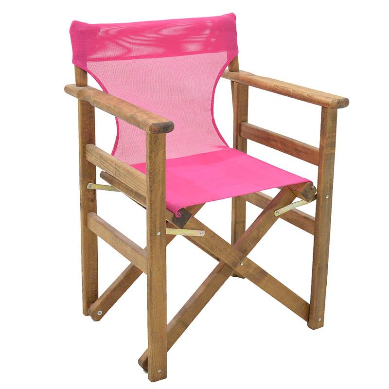 Διάτρητο Πανί Pakoworld Επαγγελματικό Για Πολυθρόνα Σκηνοθέτη Χρώματος Φούξια