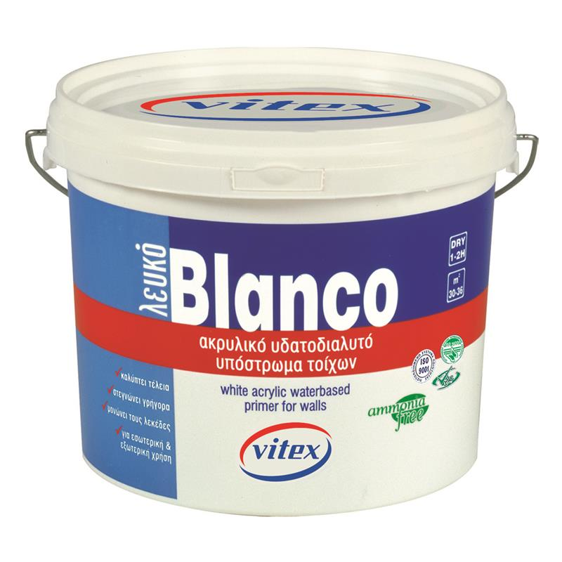 Blanco eco υπόστρωμα νερού λευκό Vitex 3L
